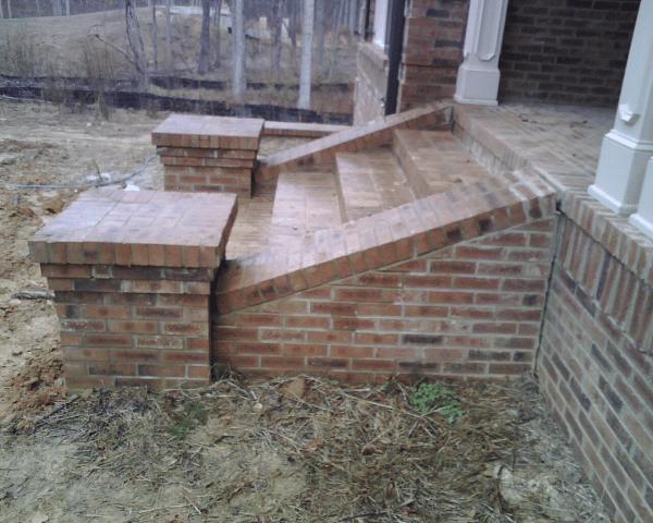 Stoop or stair settlement